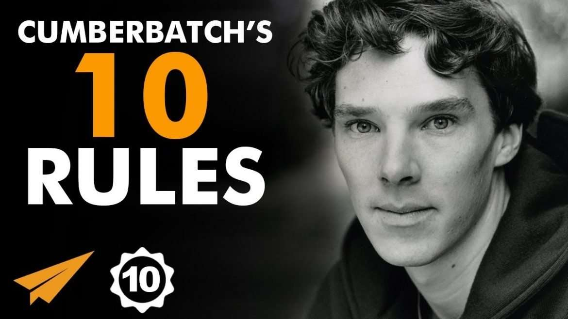 "Benedict Cumberbatch - Top 10 Rules For Success - ""Fail Again, FAIL BETTER!"""