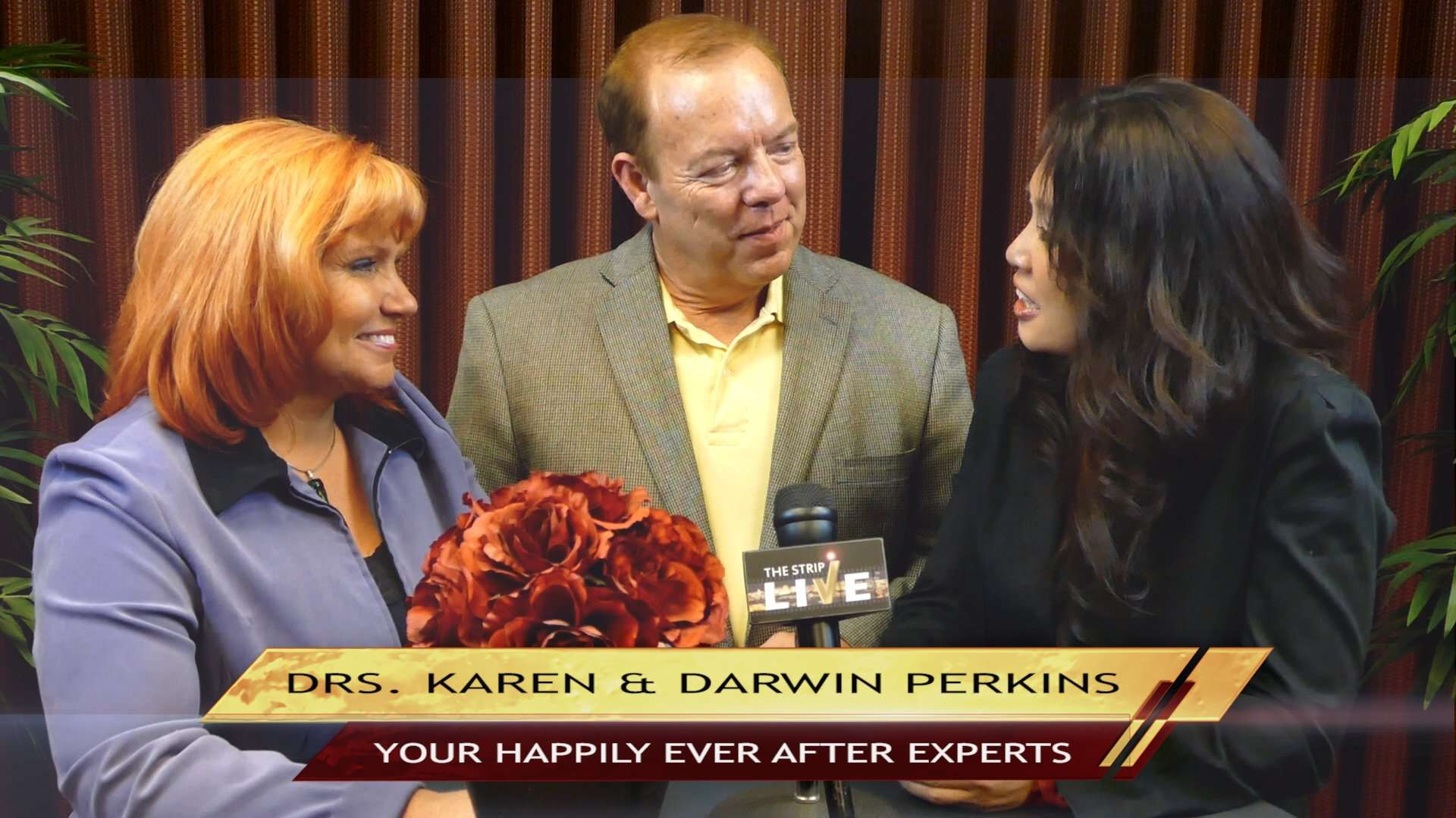 The magic formula to living happy and stress free with stress management experts Dr. Karen and Dr. Darwin Perkins