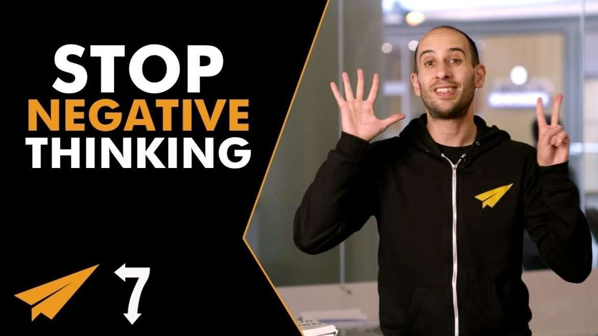 Evan Carmichael - 7 Ways to Stop Your NEGATIVE THINKING
