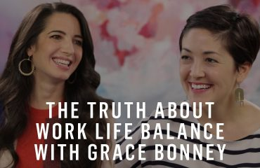 Grace Bonney - Truth About Work-Life Balance (with Marie Forleo)