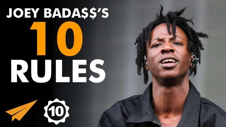 "Joey Bada$$ - Top 10 Rules - ""You've Got to Make That JUMP!"""