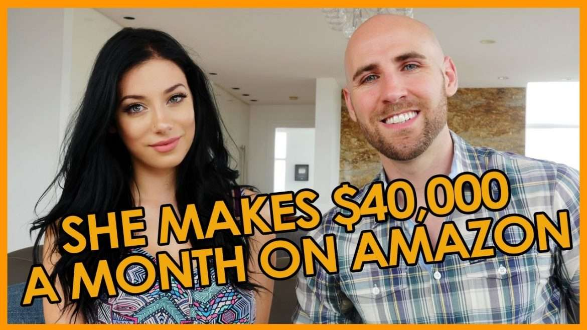 Stefan James - She Makes $40,000 Per Month on Amazon at 23 Years Old