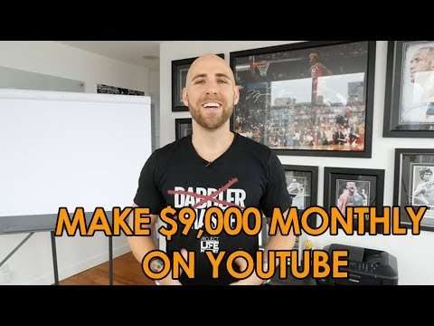 How I Make $9000 Per Month On YouTube