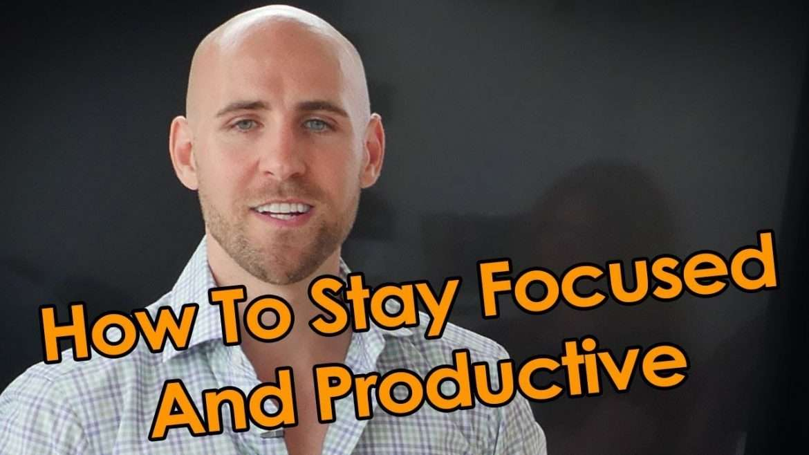 Stefan James - How To Stay Focused And Productive, Without Getting Overwhelmed Or Stressed