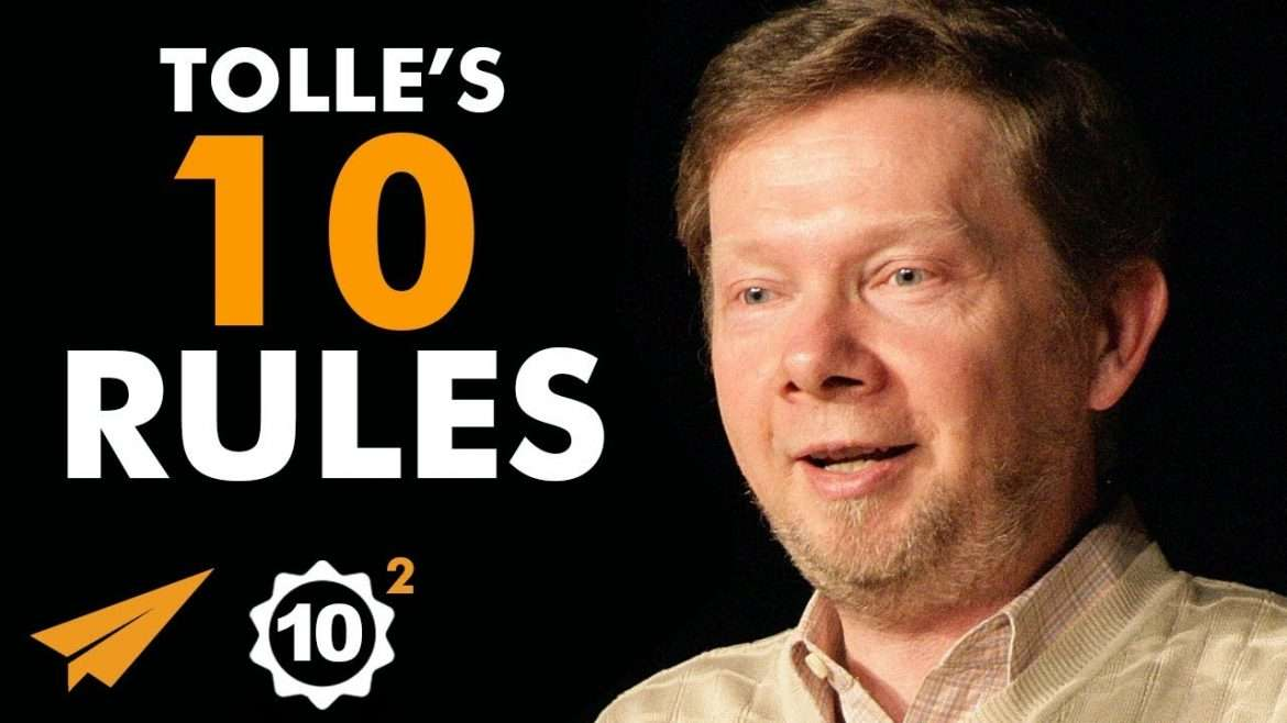 "Eckhart Tolle - Top 10 Rules For Success- ""You Have not FAILED, You Have LEARNED"""