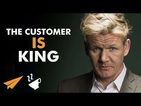"""Gordon Ramsay - """"Without CUSTOMERS, We're NOBODY!"""""""