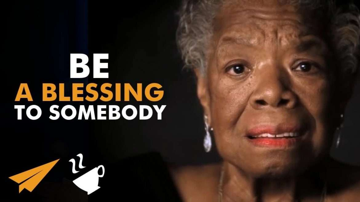 "Maya Angelou - ""Be a RAINBOW in Somebody Else's CLOUD!"""