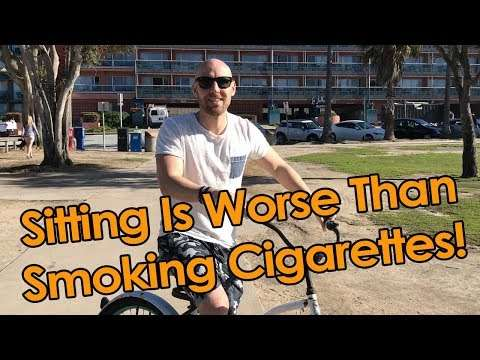 Stefan James - Sitting Is Worse Than Smoking Cigarettes! Are You Sitting Too Much?