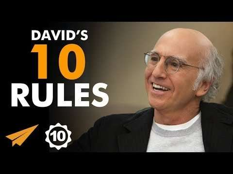 "Larry David - ""I Didn't KNOW That I Had ANY TALENT!"""