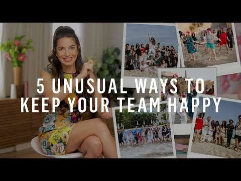 Marie Forleo - 5 Creative Ways to Motivate Employees — Without Money