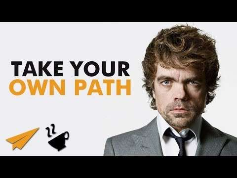 "Peter Dinklage - ""DO What is TRUE to YOU"""