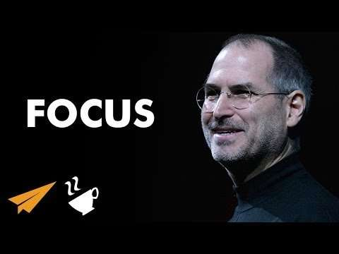 "Steve Jobs - ""TRY To Do Very FEW Things WELL!"""