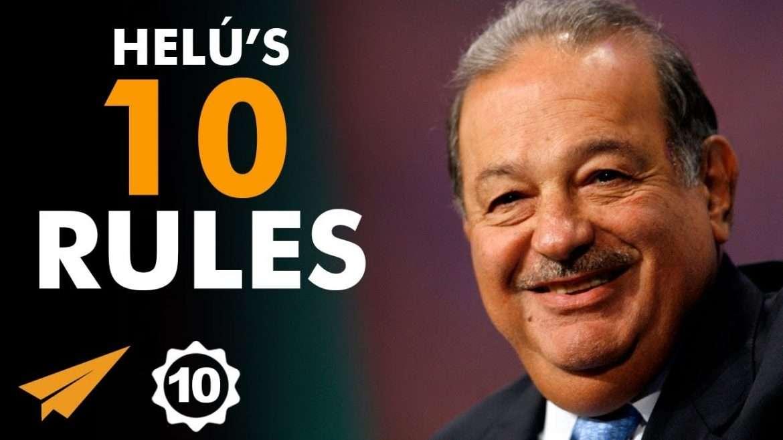 """Carlos Slim Helú - Top 10 Rules - """"WEALTH is Like a FRUIT TREE!"""""""