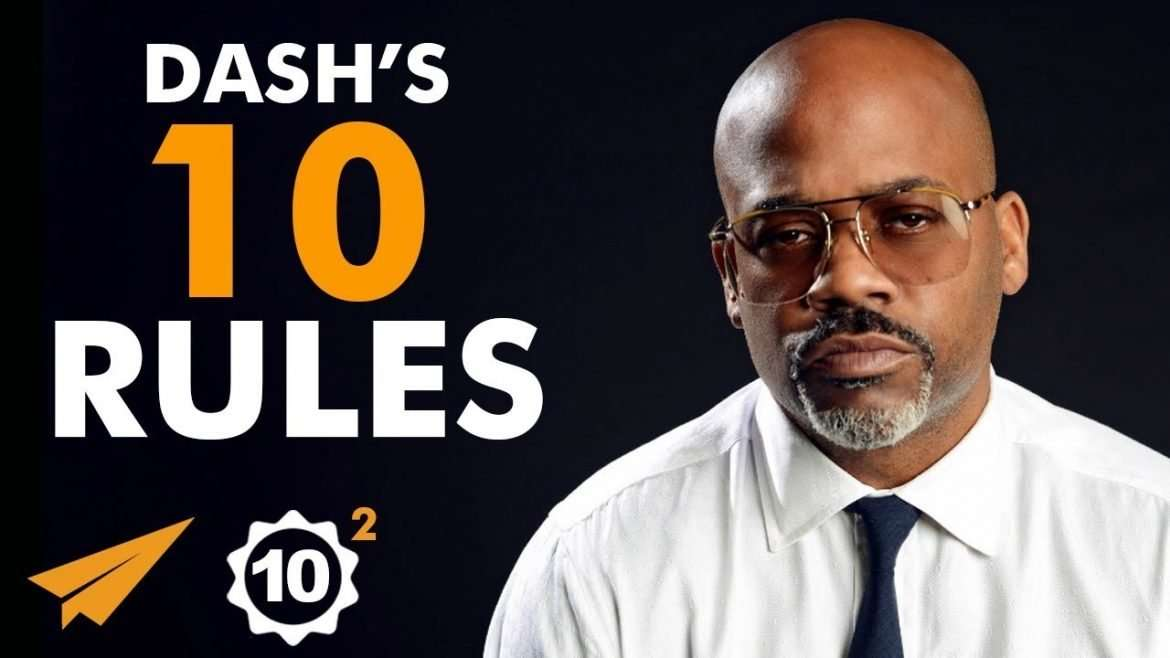 """Damon Dash - Top 10 Rules - """"Don't LET Others CONTROL Your DESTINY!"""""""