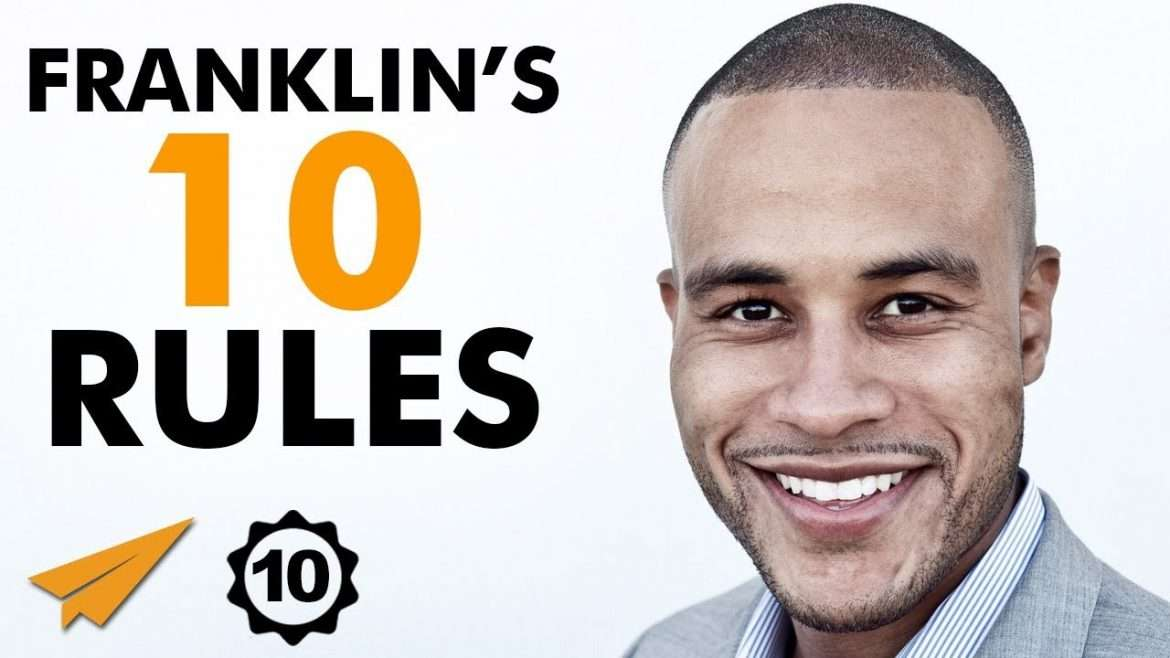 """DeVon Franklin - Top 10 Rules - """"You Don't GET a CHANCE to do This LIFE AGAIN!"""""""