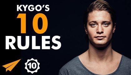 Kygo - Top 10 Rules -