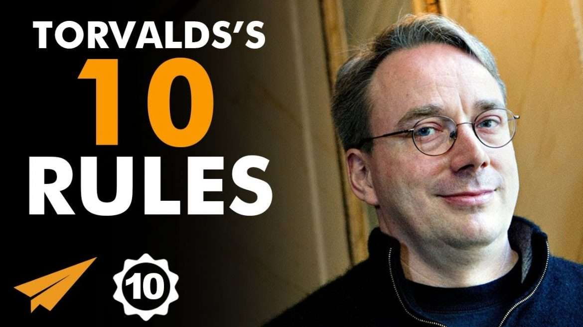 "Linus Torvalds - Top 10 Rules - ""LOTS of People Have IDEAS. Can You EXECUTE YOURS?"""