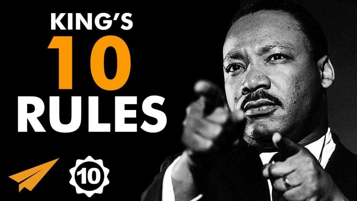 "Martin Luther King Jr. - Top 10 Rules - ""#BELIEVE In Your WORTHINESS!"""