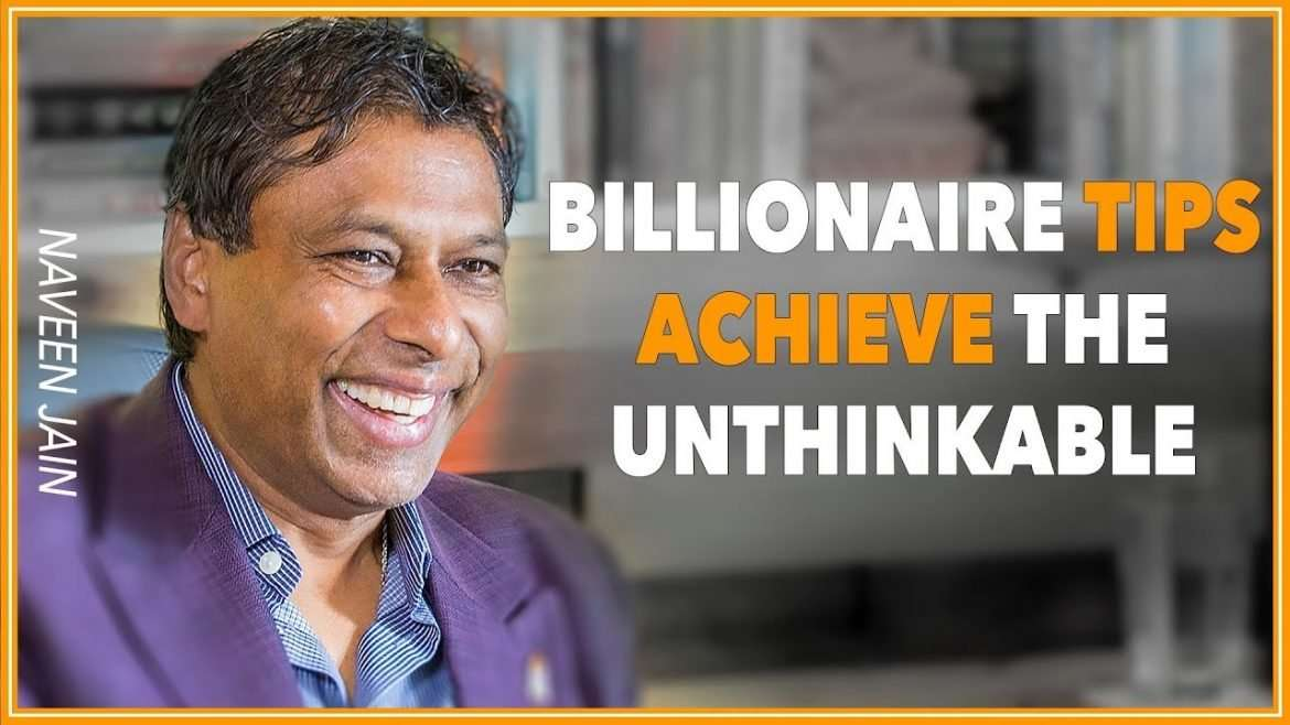Naveen Jain - Achieve The Unthinkable (with Lewis Howes)