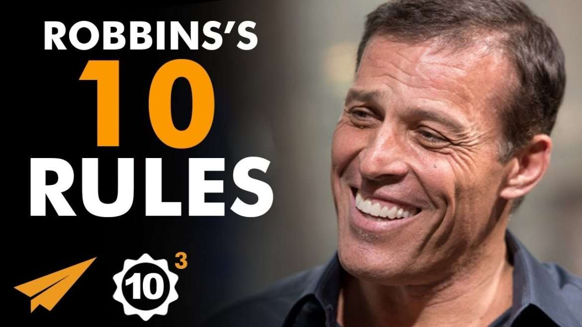 "Tony Robbins - Top 10 Rules - ""Become OBSESSED With SUCCESS!"""
