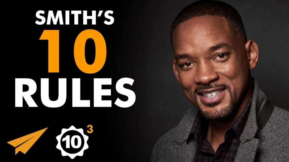 "Will Smith - Top 10 Rules - ""Be MOTIVATED By FEAR!"""
