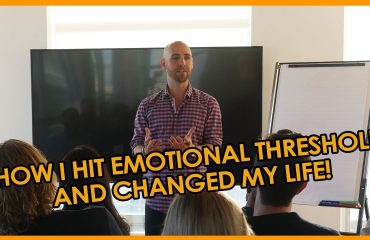 Stefan James - How I Hit EMOTIONAL THRESHOLD and Changed My Life!
