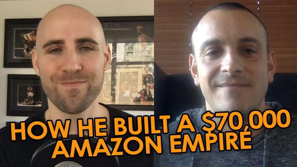 Andreas Pylarinos - How He Built A $70,000/Month Amazon Publishing Empire (Kindle, CreateSpace, Audible) (with Stefan James)
