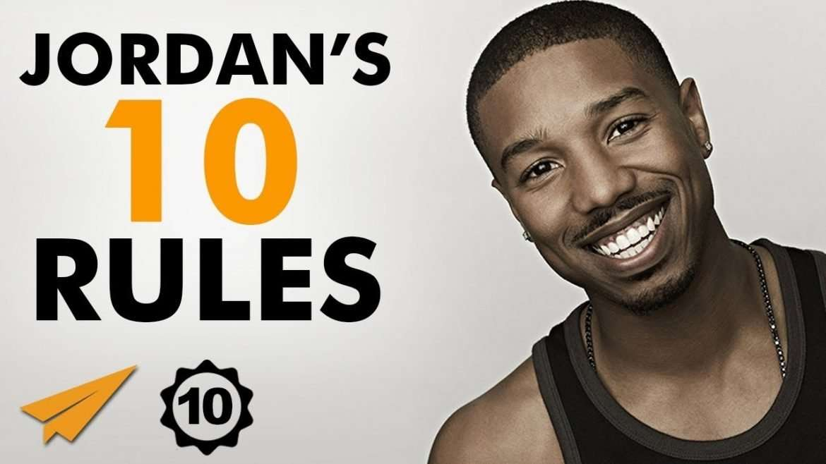 "Michael B. Jordan - ""Be WILLING to DO the HARD WORK!"""