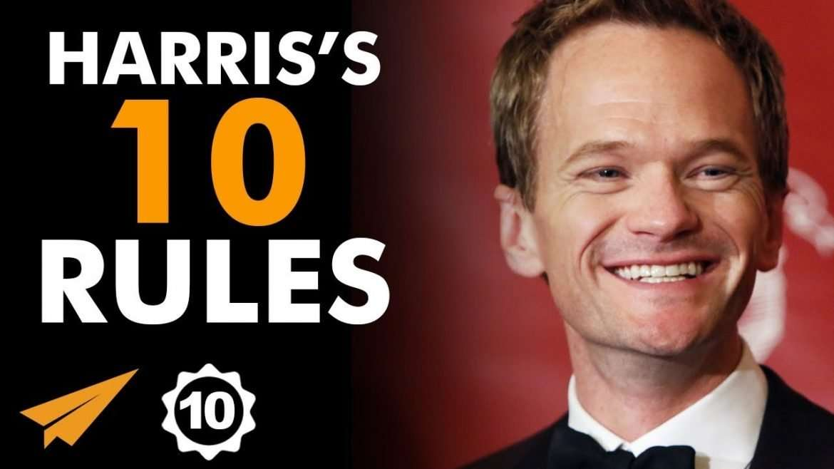 "Neil Patrick Harris - ""BE as EFFECTIVE as POSSIBLE!"""