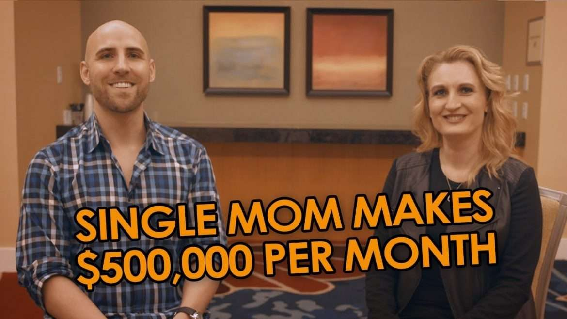 Angie Chacon - Single Mom Makes $500,000 PER MONTH On Amazon FBA Amazon FBA Success Stories  (with Stefan James)
