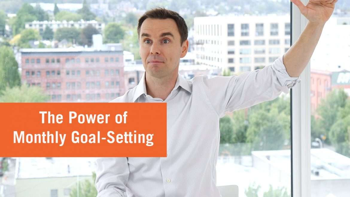 Brendon Burchard - Power of Monthly Goals (How to Schedule Your Year)