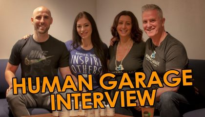 Garry and Anela Lineham - The Human Garage: How To Align Your Body And Mind For High Performance (with Stefan James and Tatiana Buree)