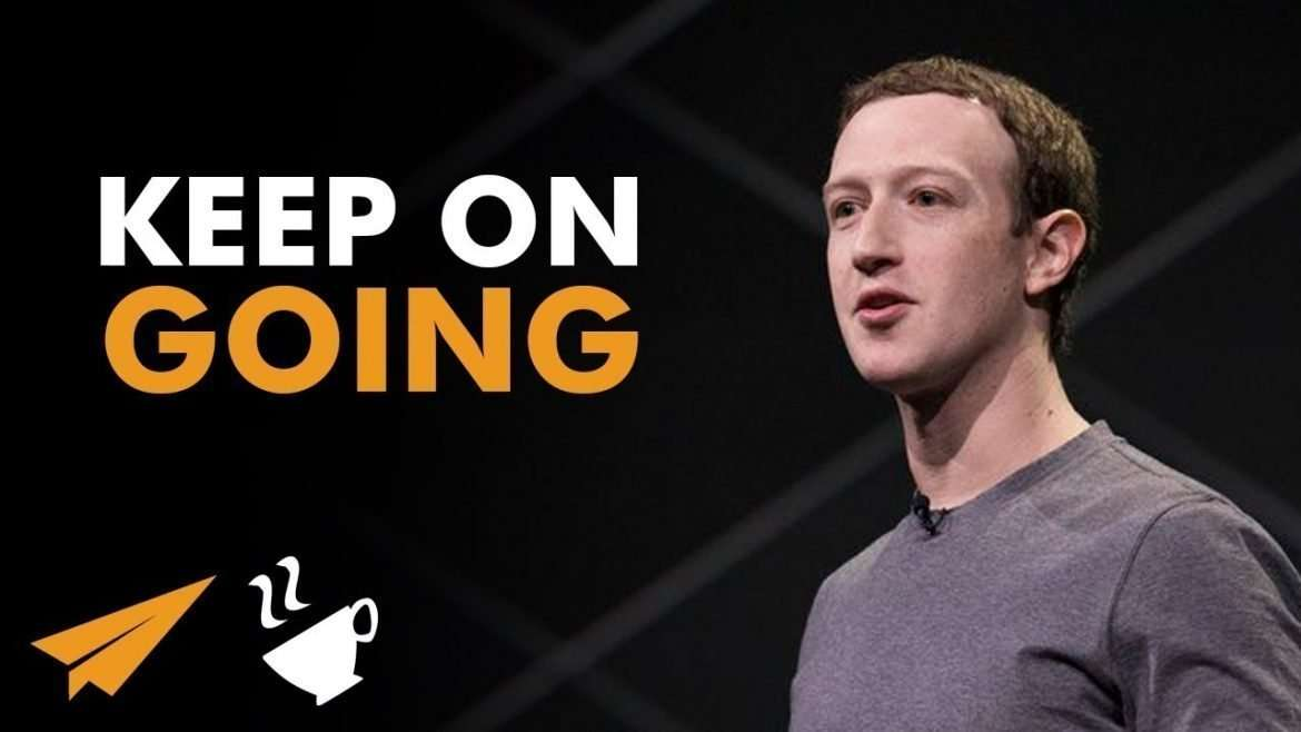 "Mark Zuckerberg - ""DON'T LET Anything HOLD You BACK!"