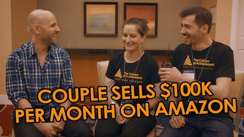 Peter Razvan Lazea and Adina Roman - Inspiring Couple From Romania Sells $100K Per Month On Amazon (with Stefan James)