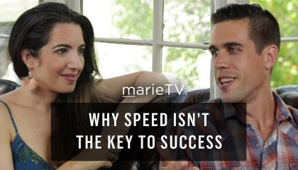 Ryan Holiday - On Why Speed Isn't the Key to Success (with Marie Forleo)