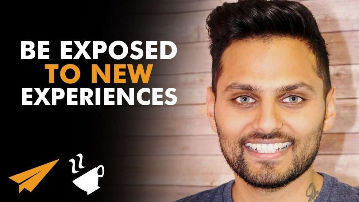 "Jay Shetty - ""OPEN Yourself UP to NEW EXPERIENCES!"""