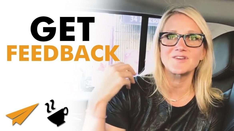 "Mel Robbins - ""You HAVE to TAKE FEEDBACK!"""