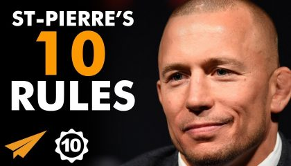 Georges St-Pierre - SUCCESS Motivation | Top 10 Rules
