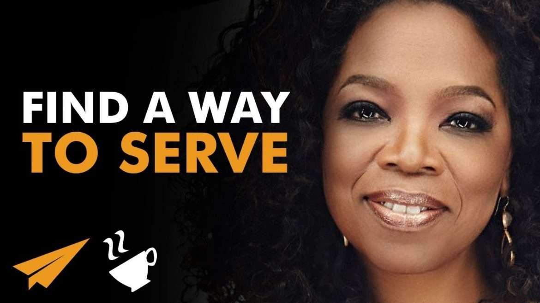 "Oprah Winfrey - ""GREATNESS is Determined by SERVICE!"""