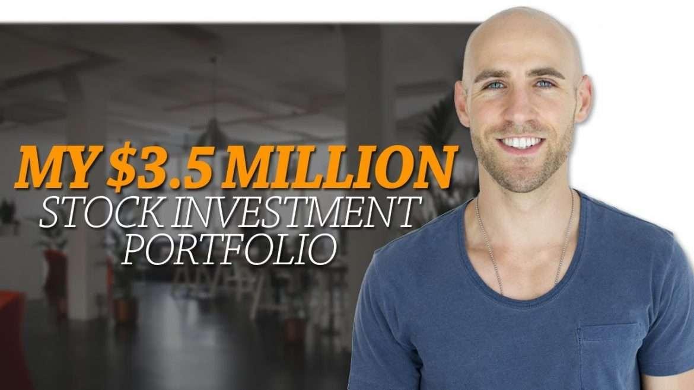 Stefan James - My $3.5 Million Stock Investment Portfolio 💰 How I Generate $8000 Per Month Passive Income