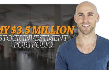 Stefan James - My $3.5 Million Stock Investment Portfolio ? How I Generate $8000 Per Month Passive Income