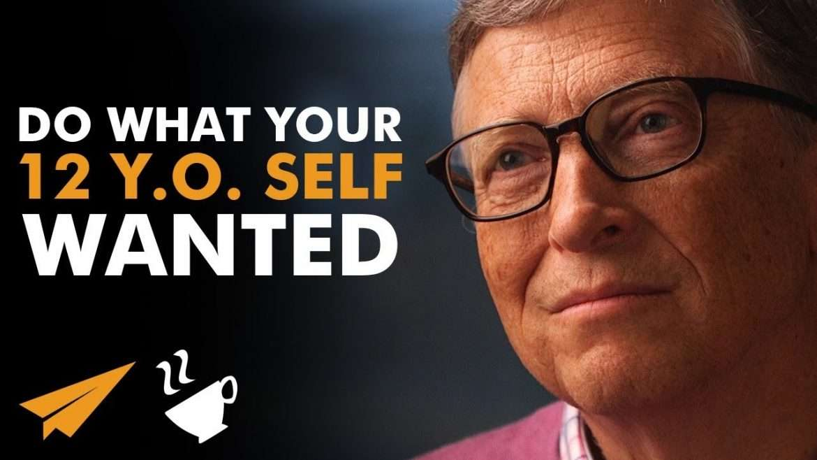 "Bill Gates - ""Find Your OBSESSION!"""