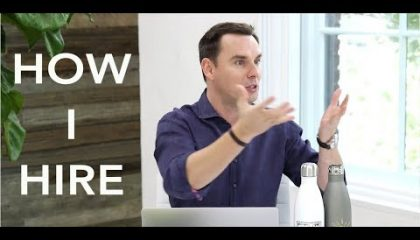 Brendon Burchard - How I Hire, and Build High-Performance Teams