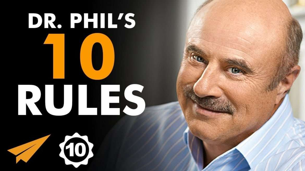 """Dr. Phil - """"Be a STAR of Your Own LIFE!"""""""