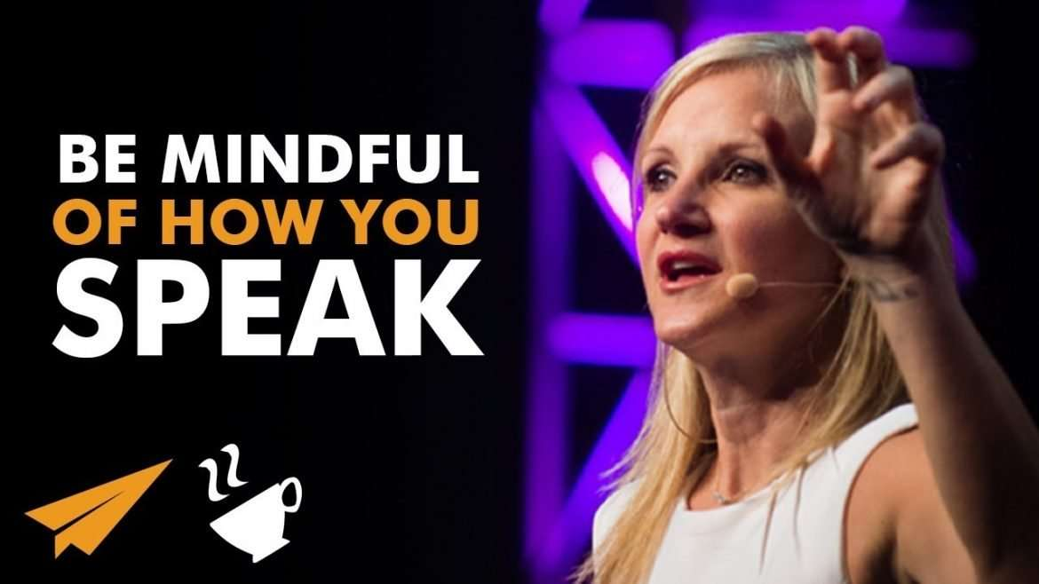 "Mel Robbins - ""Be MINDFUL of How You SPEAK!"""