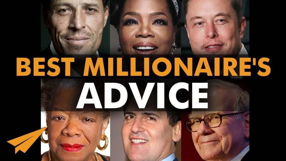 VIP MasterCAST - Millionaires Reveal the Most LIFE-CHANGING Pieces of ADVICE They've EVER Got
