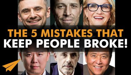 VIP MasterCAST - The 5 MISTAKES That Keep People BROKE!