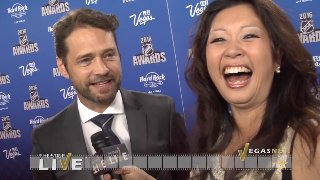 Jason Priestley (showcase) with Maria Ngo | SuccessShowcase.com
