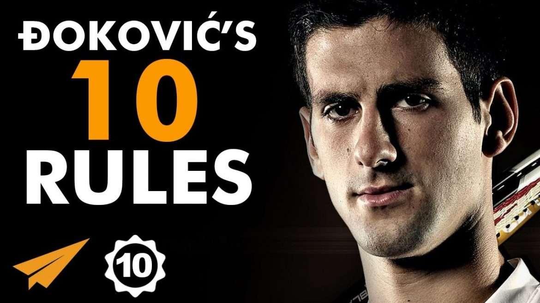 """Novak Đoković - """"Have a MINDSET of a CHAMPION!"""""""