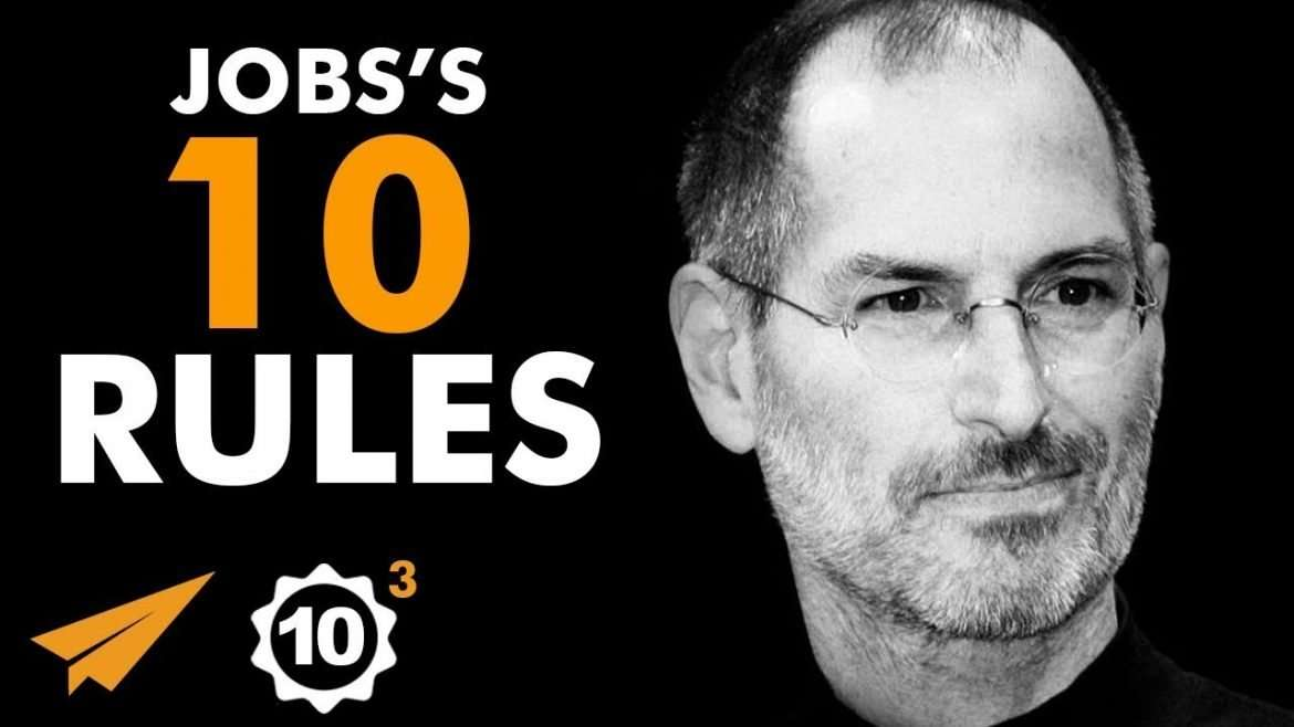 "Steve Jobs - ""Stay FOCUSED on Your GOALS!"""